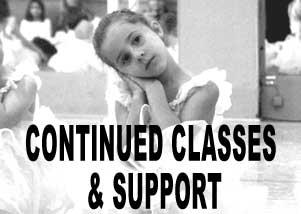 Online Classes during Temporary Studio Closure