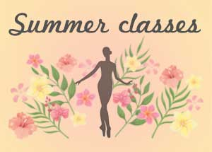 Summer Classes will be offered both in person & via Zoom!